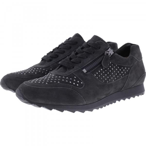 Hassia / Barcelona / Grey Leder-Swarovski / Wechselfußbett / Art: 6-301932-6000 / Damen Sneaker