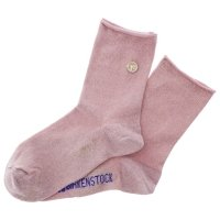 Birkenstock Damen Socken - Cotton Sole Bling - Flamingo Pink