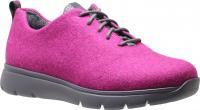 Ganter / Gisi / Pink-Anthrazit Merino Wolle / Weite: G / Art: 2-204340-9362 / Damen Schnürer-Copy 4.5 UK