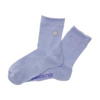 Birkenstock Damen Socken - Cotton Sole Bling - Skyway (Hellblau)