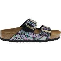 Birkenstock / Modell: Arizona / Shiny Snake Black Multi / Weite: Schmal / Art: 1003463 / Damen