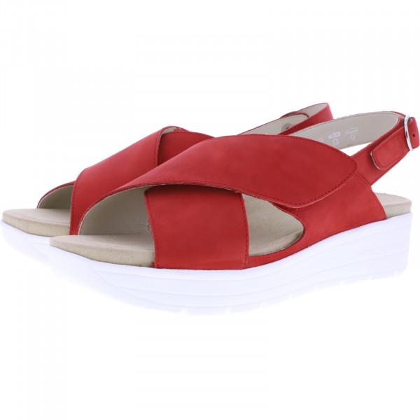 Solidus / Greta / Kiss Red Leder / Weite: G / 48003-50048 / Damen Sandalen