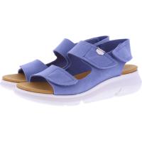OnFoot / Modell: Bora / Farbe: Vaquero Hellblau Leder / Art.: 90004 / Damen Sandalen