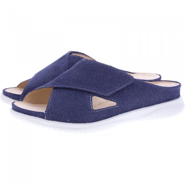 Hartjes / Modell: Breeze II / Jeans Blau Leder / Weite: G / 111322-4700 / Damen Pantoletten