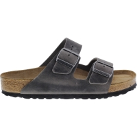 Birkenstock / Modell: Arizona / Iron Leder / Weite: Normal / Art: 552801 / Weichbettung
