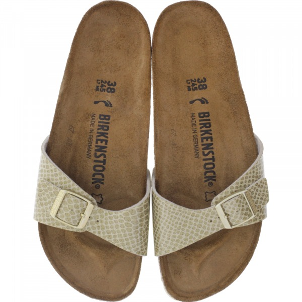 Birkenstock / Modell: Madrid / Magic Snake Gold / Weite: Schmal / Art: 1011755