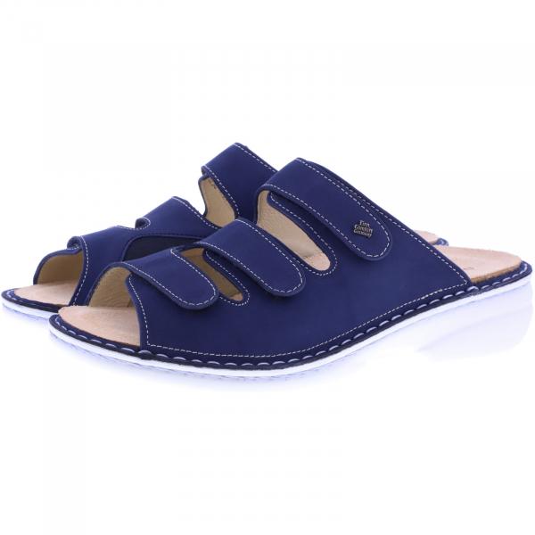 Finn Comfort / Cisano / Atlantic Blau Leder-Stretch / Wechselfußbett / Art: 05005-902281 / Damen