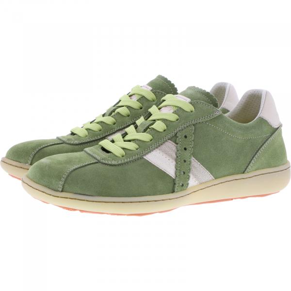 OnFoot / Modell: Citrus / Farbe: Verde Grün Leder / Art.: 14003 / Damen Sneakers