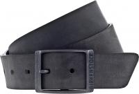 Birkenstock Gürtel / Modell: Kansas / Breite: 35mm / Schwarz Leder / Unisex Gürtel One-Size