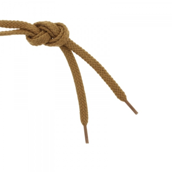 Jacoform Schnürsenkel - 80cm - Walnuß
