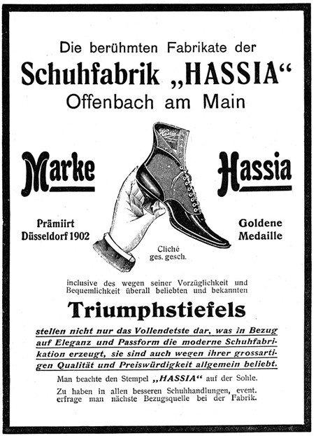 Hassia Zeitung aus 1904