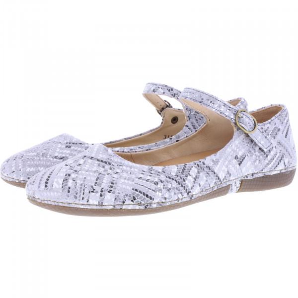 Neosens / Modell: S3115F / Viura Fantasy Breno Silver Leder / Edle Damen Ballerinas