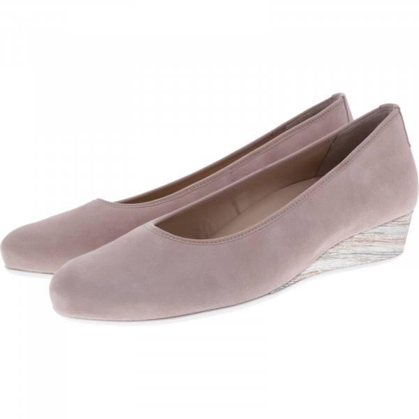 Hassia / Nizza / Rose Leder / Wechselfußbett / Art: 7-302105-4700 / Damen Ballerinas