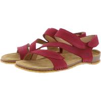 El Naturalista / Modell: N5810 Panglao / Farbe: Pleasent Tibet Rot Leder / Damen Sandalen