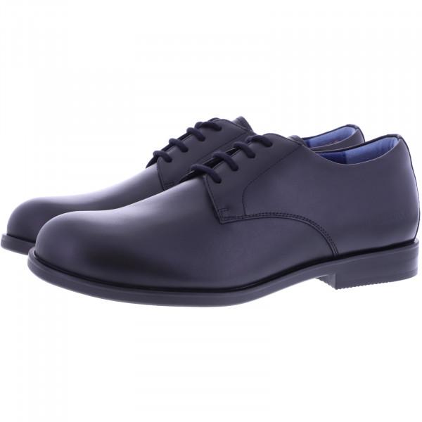 Birkenstock Shoes / Modell: Jaren / Schwarz / Leder / Weite: Normal / Art: 1017771 / Herren