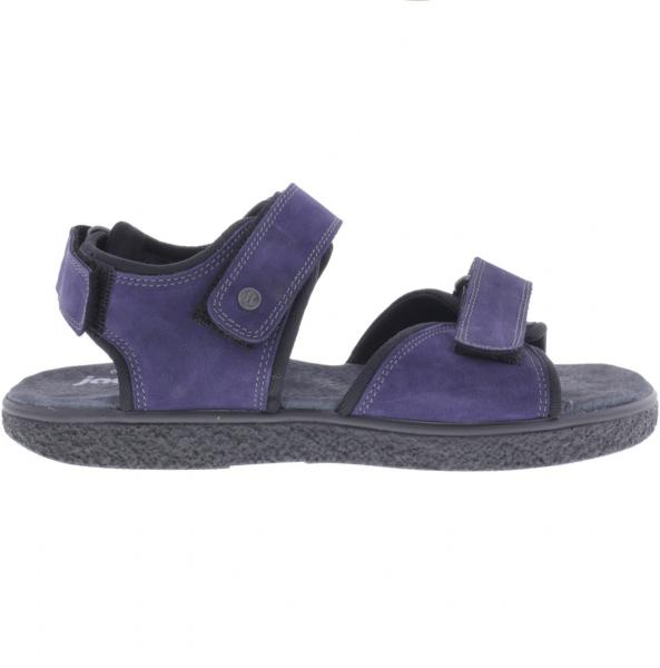 Jacoform / Modell: 390 / Blau Nubukleder / Damen Sandalen