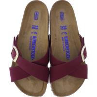 Birkenstock / Modell: Siena mit Weichbettung / Maroon Rot Nubuk Leder / Weite: Normal / Art: 1020625