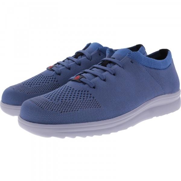 Berkemann Comfort Knit / Modell: Allegro / Blau Knit / Form: Baden / Art: 05550-356 / Herren