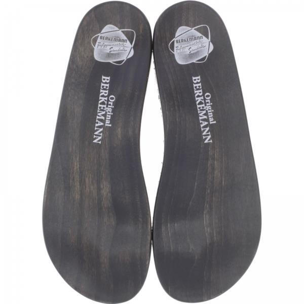 Berkemann / Holzsohle für Original-Sandale / B100 / Schwarz / Art: 07100-915 / Unisex