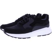 Xsensible Stretchwalker / Modell: Golden Gate / Black / Leder / Art: 332002-001 / Herren Sneakers