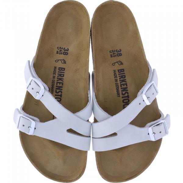Birkenstock / Modell: Yao Balance / Mineral Grau Leder / Weite: Normal / 1016096 / Damen