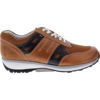 Xsensible Stretchwalker / Modell: New York / Cognac / Leder / Art: 300321-330 / Herren Sneakers