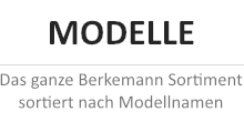 Berkemann Modelle Kollektion