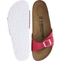 Birkenstock / Modell: Madrid / Tango Red Lack / Weite: Schmal / Art: 1005308 / Damen Pantoletten