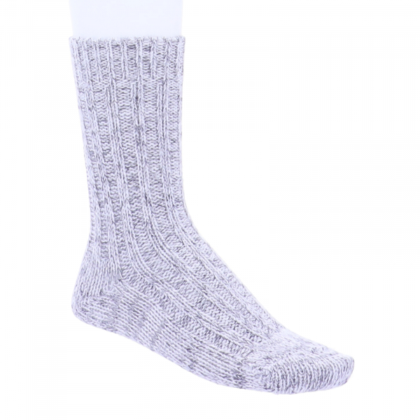 Birkenstock Damen Socken - Cotton Bling Glitzer-Socken - Hellgrau Meliert