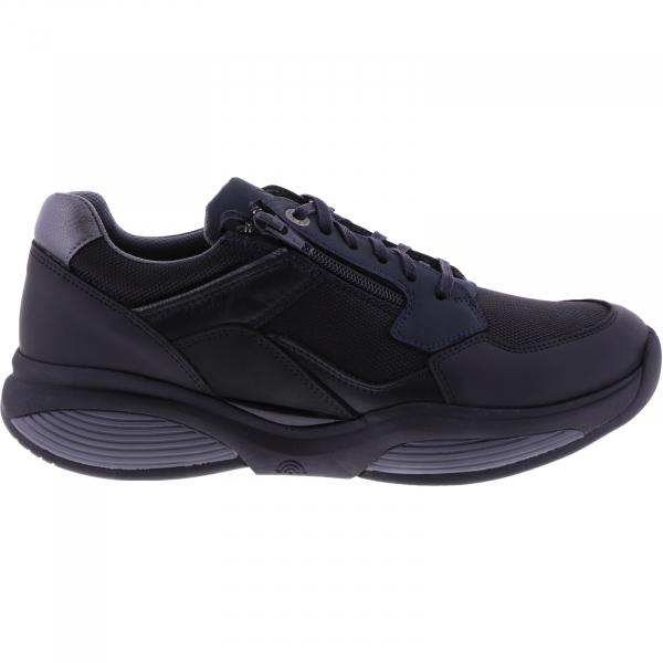 Xsensible Stretchwalker / Modell: SWX14 / Black-Blue / Leder-Textil / Art: 300881-034 / Herren