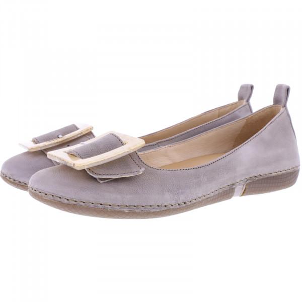 Neosens / Modell: S3116 / Viura Texas-Land Grau Leder / Edle Damen Ballerinas