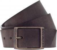 Birkenstock Gürtel / Modell: Kansas / Breite: 35mm / Dunkelbraun Leder / Unisex Gürtel One-Size