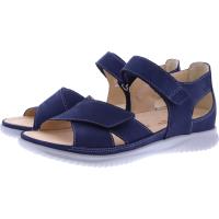 Hartjes / Modell: Breeze / Marineblau Veloursleder / Weite: G / 111332-6500 / Damen Sandalen