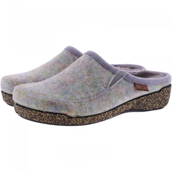 Hartjes / Modell: Feel Good / Opal Wolle/Lammfell / Weite: G / 5220873-9300 / Damen Filzhausschuhe