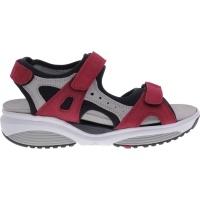 Xsensible Stretchwalker / Modell: Chios / Rot-Beige / Leder / Art: 300501-701 / Damen Sandalen