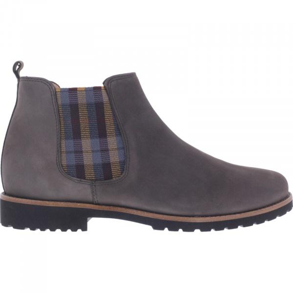 Ganter / Frida / Vulcano Grau / Weite: F / Kalbsleder / Art: 8-208352-6700 / Damen Chelsea Boots