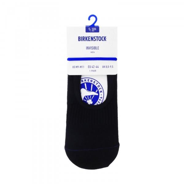 Birkenstock Herren Socken - Cotton Sole Invisible - Schwarz