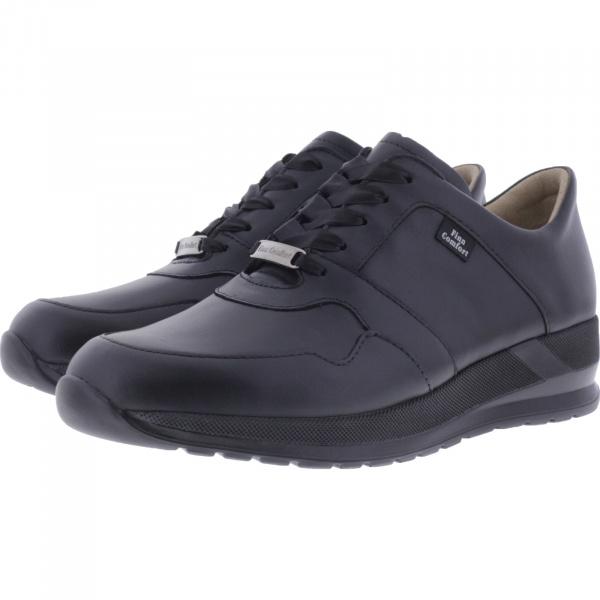 Finn Comfort / Drena / Schwarz Leder / Wechselfußbett / Art: 03613-014099 / Damen Sneakers