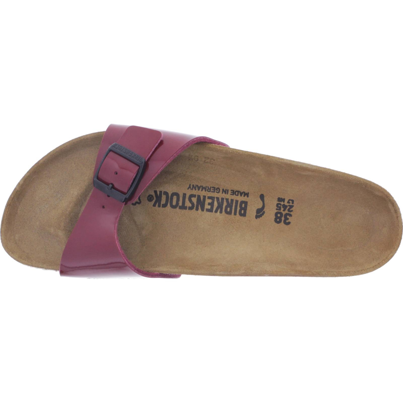 Birkenstock Modell: Madrid Port Rot Lack Weite: Schmal Art: 1014315 Damen Sandalen