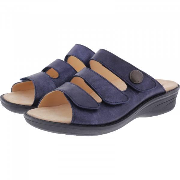 Ganter / Hera / Ocean Metallic / Wechselfußbett / Weite: H / Art: 5-205805-3000 / Damen Pantolette