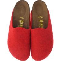 Birkenstock / Modell: Amsterdam / Melange-Red / Weite: Schmal / Art: 1011748 / Damen Clogs