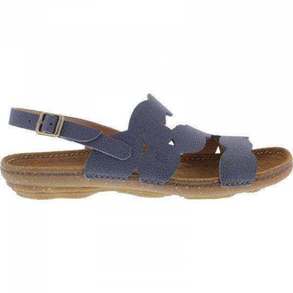 El Naturalista / Modell: N5223 Torcal / Farbe: Soft Grain Vaquero Blau Leder / Damen Sandalen