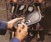 Jacoform Schuhe Fertigung Sohle