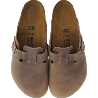 Birkenstock / Modell: Boston / Tabacco Leder / Weite: Normal / Art: 960811 / Unisex Clogs