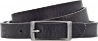 Birkenstock Gürtel / Modell: Ohio / Breite: 20mm / Grau Leder / Unisex One-Size