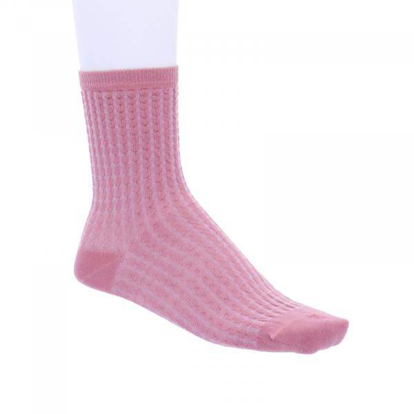 Birkenstock Damen Socken - Structured Dot - Soft Pink