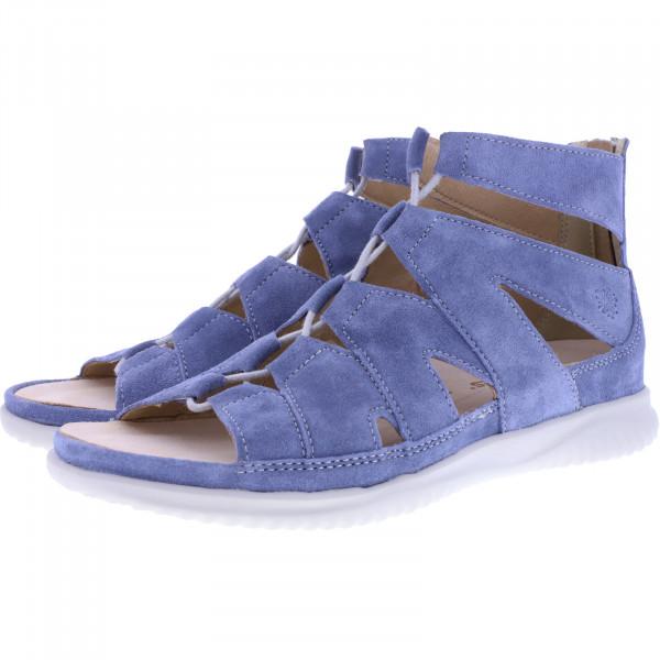 Hartjes / Modell: Breeze II / Aqua-Blau Nubukleder / Weite: G / 112432-4200 / Damen Sandaletten