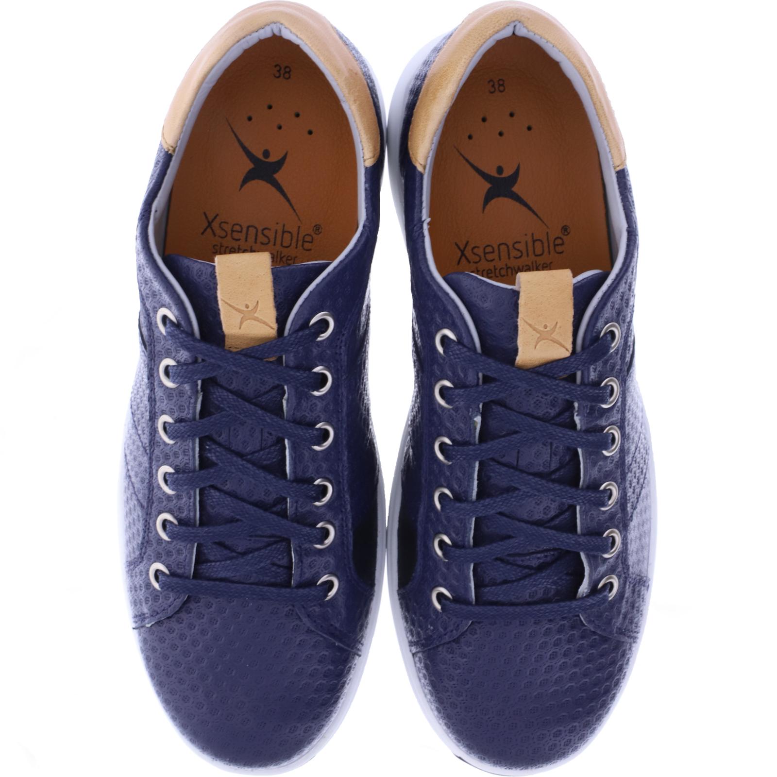 Xsensible Stretchwalker Modell: Toulouse Navy Dunkelblau Art: 302052 220 Damen Sneakers