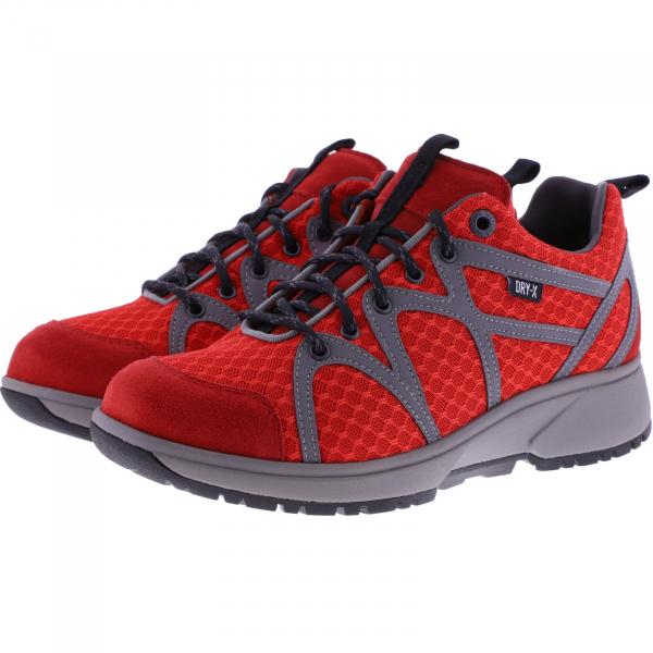 Xsensible Stretchwalker / Modell: Stockholm / Rot Dry-X / Art: 402025-701 / Damen Schuhe
