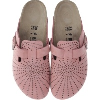 Birkenstock / Modell: Boston / Crafted Rivets Doll Rosé Leder / Weite: Schmal / Art: 1009751 36 EU